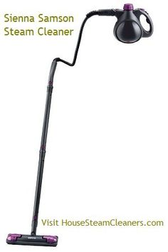 Sienna Samson Steam Cleaner - $119.99  This handheld #steam #cleaner has multiple purposes and includes accessories. You can eliminate indoor pollutants on all types of surfaces within your home. Quickly clean and disinfect your home. You can even use it to clean carpet. Discover more by visiting us today!