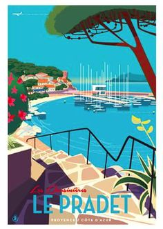 MonsieurZ Illustrateur Français france sud de la France presse publicité internationale Air France Aérien Affiches affiche @franceisintheair @airfrance french riviera french style @admagazinefr affiche vintage affiches vintage french life paris cote d'azur alpes ski sky avion