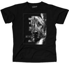 T-Shirt Hunde Hund SCHÄFERHUND IN THE FACE Wilsigns Siviwonder bis 4XL