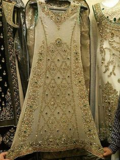 Embroidery Suits Design, Embroidery Dress, Pakistani Outfits, Indian Outfits, Bridal Outfits, Bridal Dresses, Party Wear Dresses, Party Dress, Prom Dresses
