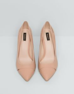 COURT SHOES WITH CUT-OUT DETAIL - WOMEN'S FOOTWEAR - WOMAN - PULL&BEAR Serbia