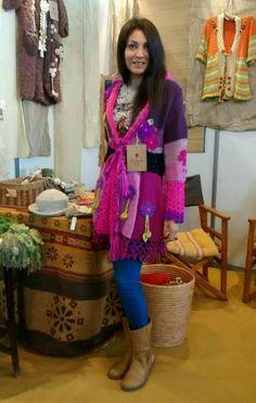 Hippie Crochet, Freeform Crochet, Crochet Shawl, Knit Crochet, Modern Crochet, Chrochet, Crochet Fashion, Coats For Women, Mantel