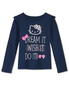 Hello Kitty Graphic-Print T-Shirt, Little Girls (2-6X)