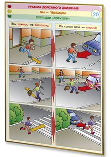 Правила дорожного движения плакаты для школы