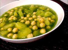 Cucina afghana: ceci in salsa alla menta