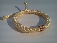 Orthodox russian greek 33 knot bracelet with Gold Plated