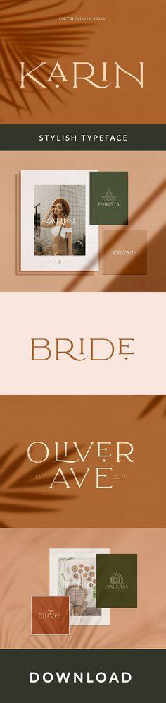 Elegant Karin is a Minimalist Modern Elegant vintage font with beautiful ligatures, tons of Logo Design, Brand Design, Graphic Design, Glyph Font, Design Presentation, Stylish Text, Brand Fonts, Text Overlay, Viking Symbols