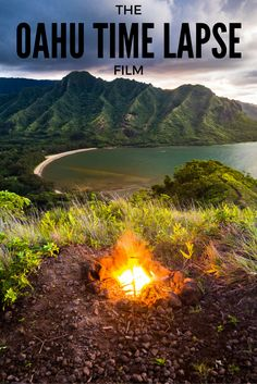 THE OAHU TIME LAPSE FILM Everything from the looming green mountain ranges to the cerulean blue waters. A few of our favorite spots that showcase the beauty of Oahu, Hawaii!