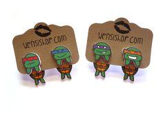 Teenage Mutant Ninja Turtles Inspired Cling (and more!)  by nerdgirlwensi