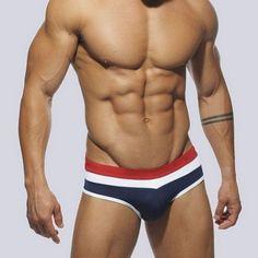 13 Colors Sex Gay Mens Addicted Swimwear Men Elastic Swimsuit Man Quick Dry Underpants Men's Swimming Trunks 2XL Swimsuits,UA128