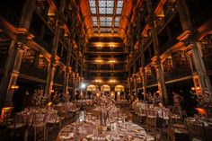 Gorgeous gold and blush wedding at the George Peabody Library - Amanda and Eric, April 29, 2016