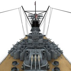 Japanese Battleship Yamato Model available on Turbo Squid, the world's leading provider of digital models for visualization, films, television, and games. Yamato Class Battleship, Capital Ship, Musashi, Model Ships, Armed Forces, Scale Models, Sailing, Boat, Japanese