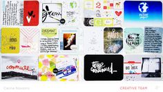 Video | Stamped PL cards with Celine Navarro #projectlife #scrapbook