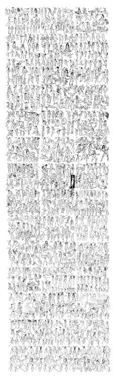 ArtStation - 1000 poses, Martin Nebelong