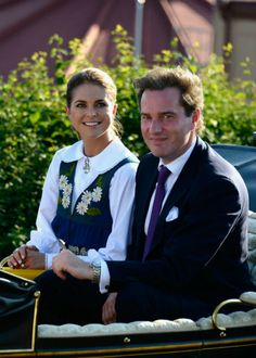 Swedish Royal Family attended the National Day Celebrations at Skansen  in Stockholm