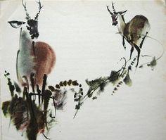 Анималистика. Мирко Ханак (Mirko Hanak , 1921-1971гг., Чехия, Прага) - Сергей Погонин