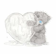 51 Best Tatty Teddy With Love Hearts Pictures And Photos Teddy Images, Teddy Bear Pictures, Cute Images, Tatty Teddy, Blue Nose Friends, Ice Heart, Illustration Noel, Bear Wallpaper, Love Bear