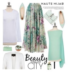 Haute Hijab 16/2 by sabinakopic on Polyvore featuring polyvore fashion style River Island Chicwish ASOS Valentino Urban Decay Dolce&Gabbana Henri Bendel clothing