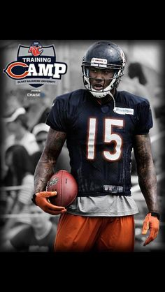 chicagobears  trainingcamp  nfl  dabears Bears Football 461efd4be79f1