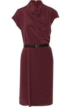 Derek Lam - Kleid in Wickel-Optik aus Seide mit Gürtel