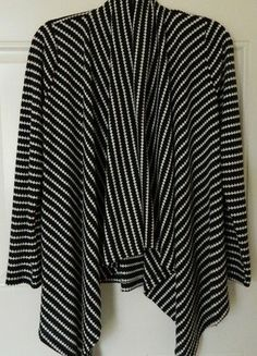 Buy my item on #vinted http://www.vinted.com/womens-clothing/other-tops/21663223-brand-new-lily-white-houndstoothblack-white-cardiganshawl