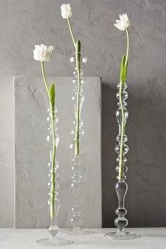 Anthropologie Bulle Glass Tapered Vase #anthrofave