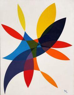 Juan Mele, Pintura #68, acrilico sobre tela, 90x70cm