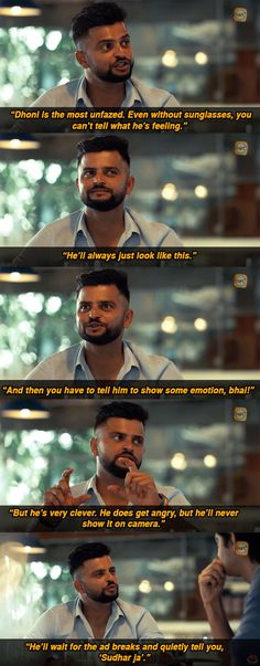 When Suresh Raina revealed that Captain Cool M. Dhoni isn't always as cool as he lets on. 19 Times Indian Cricketers Were Pretty Darn Hilarious India Cricket Team, Cricket Sport, Funny Fun Facts, Hilarious, Crazy Funny, Crickets Funny, Dhoni Quotes, Ms Dhoni Wallpapers, Cricket Quotes