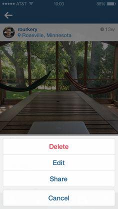 Nueva actualización para Instagram en Android permite editar el título o comentario hecho en la fotografía.