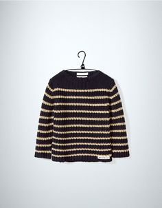 two tone round neck sweater - Cardigans and sweaters - Baby boy (3-36 months) - Kids - New collection - ZARA United States