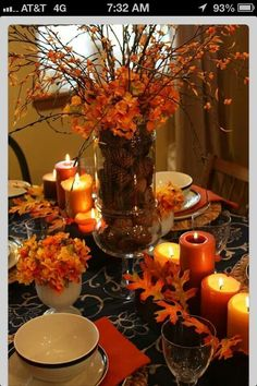 Fall centerpiece's for wedding tables??