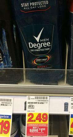 KROGER:  Axe Men's Deodorant/Antiperspirant ONLY $0.24 (reg. $2.49!!)