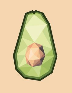 Avocado I Adobe Illustrator