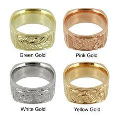 Hawaiian Wedding Rings Hawaiian Rings Malama Rings Better if