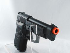 Compact with a big punch the Beretta M84 Co2 GBB Pistol by Elite Force for info follow the link... http://stores.airsoftlegion.com/beretta-m84-co2-gbb-pistol-by-umarex/