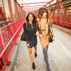 Some holiday style snaps from my collaboration with Rebecca Minkoff & The Fashion Philosophy