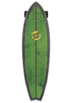 SANTA CRUZ Longboard Woody Shark 10.0 green