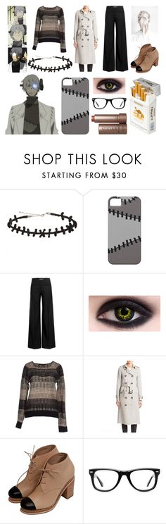 """Soul Eater: Professor Stein"" by musicflavored ❤ liked on Polyvore featuring duty free, Hot Topic, J.W. Anderson, Silvian Heach, Burberry, Muse and Fresh"