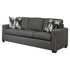Parke Sofa in Charcoal---loooove this couch!