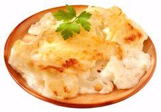 Gratinované brambory se sýrem a smetanou