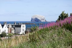 North Berwick, Scotland  North Berwick is an easy day trip from Edinburgh, what with it taking just a half hour to travel there by train.