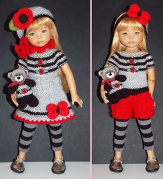 """Outfit Effner Little Darling Doll 13 """" 