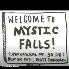 Vampire Diaries funnies. Hahaha so true. I hope they don't turn him; I like human Matt