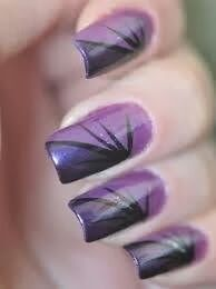 22 Purple Nail Art Designs That Are Going to Make You Love Purple Even More. Is Stunning. 22 Purple Nails – A striking design. Purple Nail Art, Purple Nail Designs, Winter Nail Designs, Nail Polish Designs, Nail Art Designs, Nails Design, Purple Makeup, Purple Nails With Design, Purple Manicure