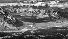 Banff National Park Banff National Park, National Parks, Canadian Nature, Alberta Canada, Mount Everest, Mountains, Black And White, Landscape, Silver