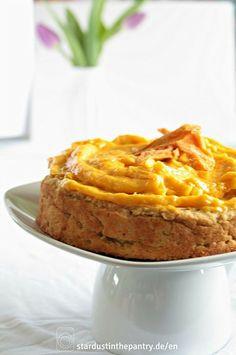 Leckerer Mango Kuchen - zuckerfrei - glutenfrei - vegan!