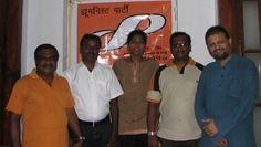 HP members in a meeting at Madurai (Tamil Nadu), planning HP in the region.