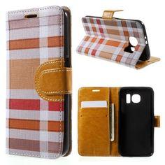 Housse Samsung Galaxy S6 Carreaux Écossais Samsung Galaxy S6, Tile, Slipcovers