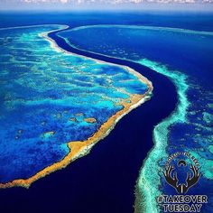 #KeikoTakeoverTuesday!@___mrad here oceanographer & co-founder of @wearethesirens I'm here to give you the run down on Australia for #takeovertuesday The #greatbarrierreef (GBR) is located in the Coral Sea off the coast of #Queensland in northeastern #Australia it is the largest single living organism on Earth & is even visible from outer space. The 2300km long ecosystem covering an area of 344400 km2  comprises thousands of reefs and hundreds of islands made of over 600 types of hard…