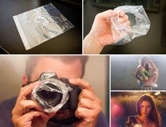 Hazy Photo Sandwich Bag Trick//